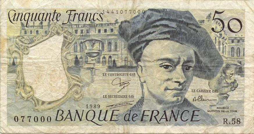 Will's Online World Paper Money Gallery - FRANCE