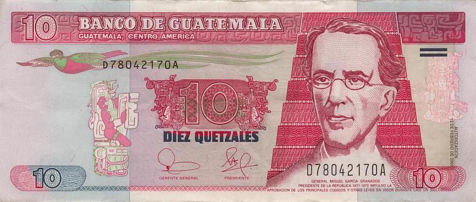 2003 107 10 Quetzales