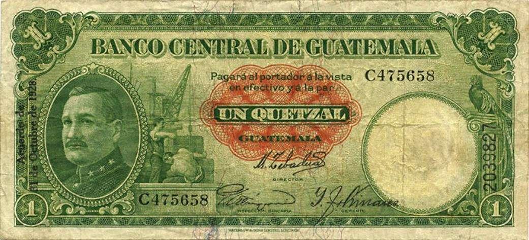 1928 11a 1 Quetzal