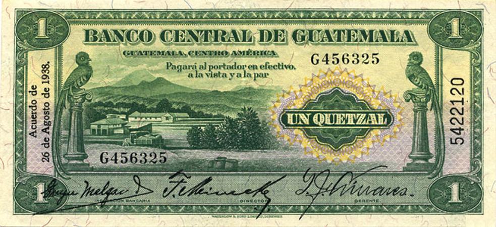 1938 14a 1 Quetzal