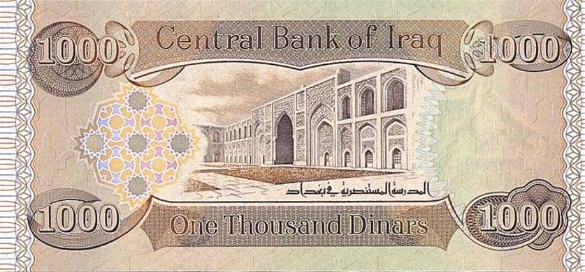 2003 92 1000 Dinars
