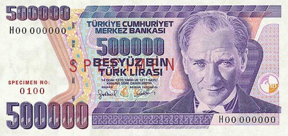 لیره ترکیه
